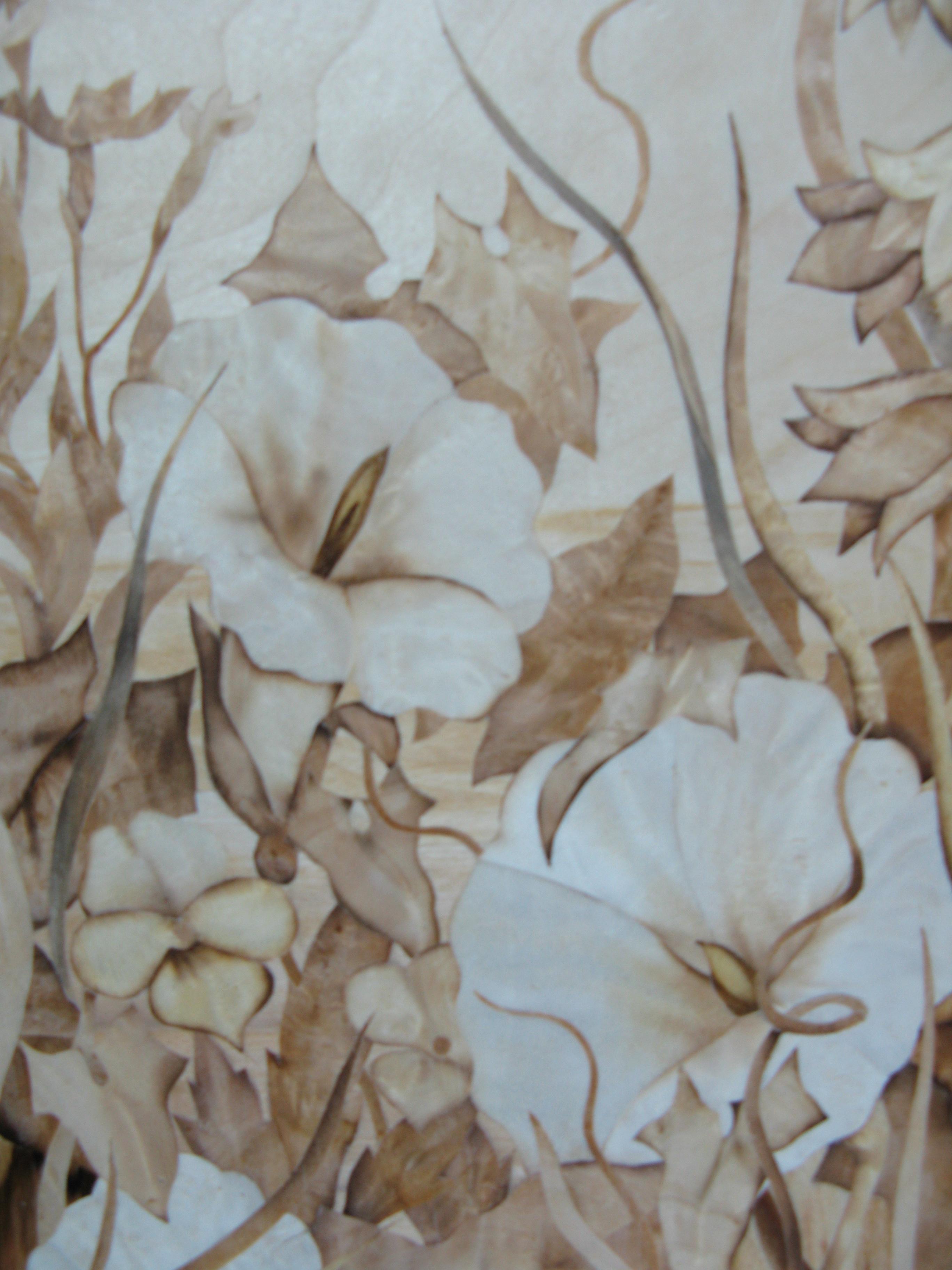 Фрагмент картины летние цветы